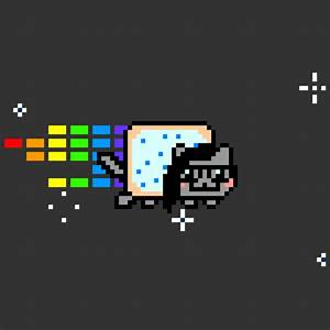 Nyan Cat GIF - Find & Share on GIPHY
