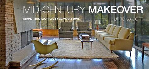 mid century makeover decor ideas living room den mid century contemporary