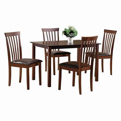 Dining Walnut Solid Wooden Furniture Avery Sets