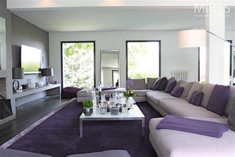 chambre violet et beige blanc beige et violet c0067 mires