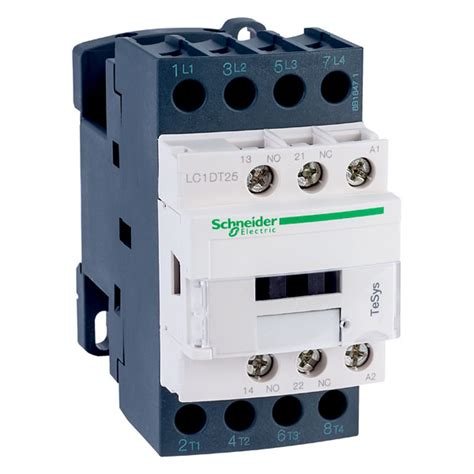 240 Vac Contactor Wiring by Schneider Electric Lc1dt25p7 Tesys 4 Pole Contactor 25a