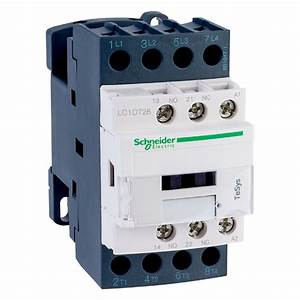 Schneider Electric Lc1dt25p7 Tesys 4 Pole Contactor 25a