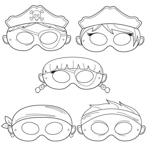 Großes herz mit dünnen rand. Halloween Maske basteln: 20 Schablonen zum Ausdrucken - bastelideen, DIY, Halloween - ZENIDEEN