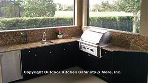 Outdoor kitchen cabinets more quality outdoor kitchen for Kitchen cabinets and more