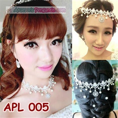 jual aksesoris pengantin modernl hiasan rambut pesta wedding wanita apl 005 aksesoris