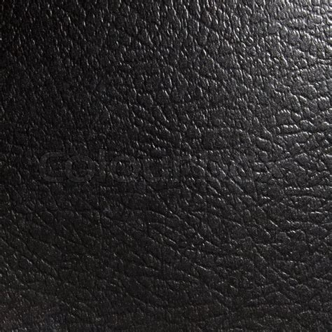 black unnatural leather texture  background stock