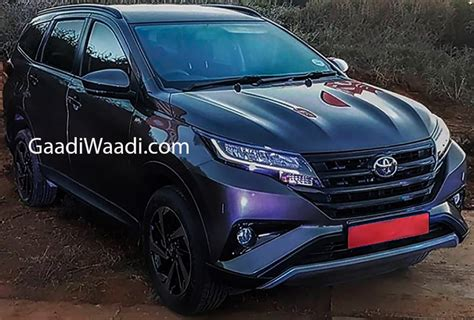 toyota rush testing     india launch