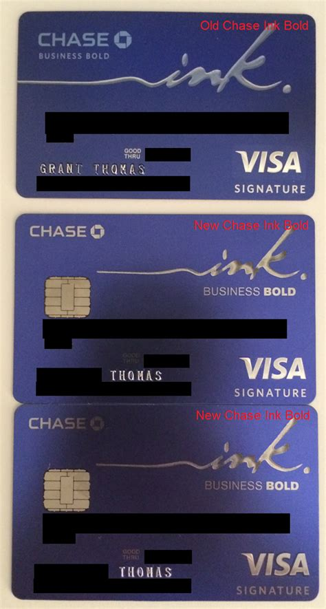 Maybe you would like to learn more about one of these? Chase Ink Bold and Plus Business Credit Cards now being Issued with Chip and Signature (Pics)