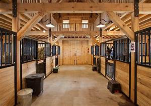 Image Gallery horse barn interior
