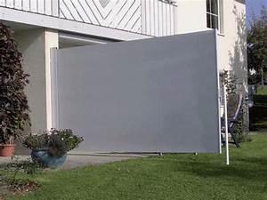Metall Sonne Für Hauswand : die seitenmarkise als sichtschutz windschutz und sonnenschutzwand ~ Whattoseeinmadrid.com Haus und Dekorationen