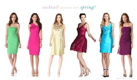 cocktail dresses   spring wedding