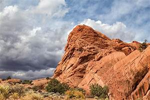 Stormy Desert Afternoon Photograph by Kathleen Bishop