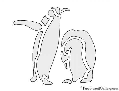 penguin stencil  stencil gallery