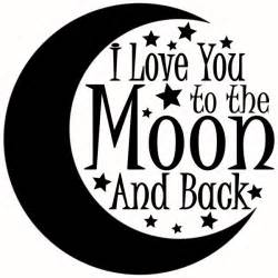i you to the moon and back svg cuttable designs