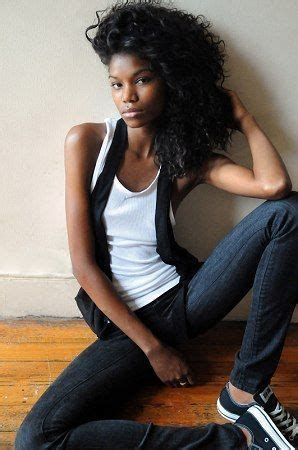 Beautiful Skinny Black Girl On Stylevore