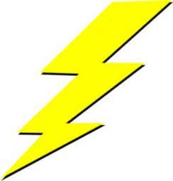 Zeus Lightning Bolt Clip Art