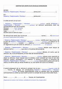 Vente Voiture Papier : formulaire acte de vente remorque bateau ~ Gottalentnigeria.com Avis de Voitures