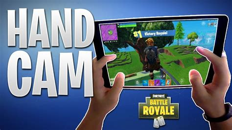 fortnite mobile ipad pro hand cam    build fight