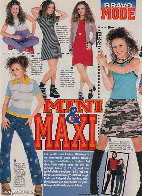 90er damen vongestern modekn 252 ller der 90er jahre 1997