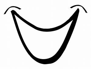 Smiling Mouth 1 vector clip art download free - Clipart ...