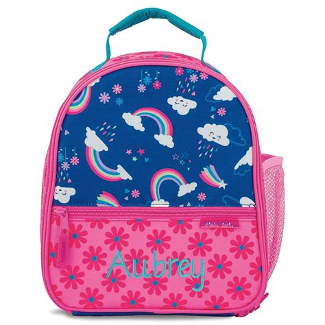 personalized rainbow lunch bag  stephen joseph