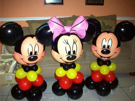 Mickey And Minnie Balloon Decorations - 17 best images about balloons table toppers on
