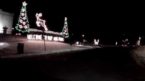 nay aug park scranton pa christmas lights 2013 youtube