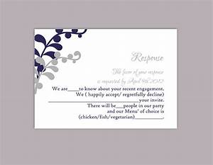 diy wedding rsvp template editable text word file download With wedding invitation response text