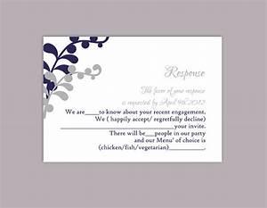 DIY Wedding RSVP Template Editable Text Word File Download ...