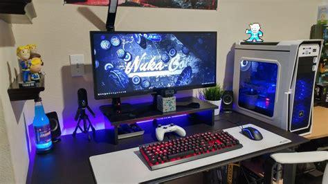 Jtg Ultimate 3000 Gaming Pc Desk Setup 2017 Youtube