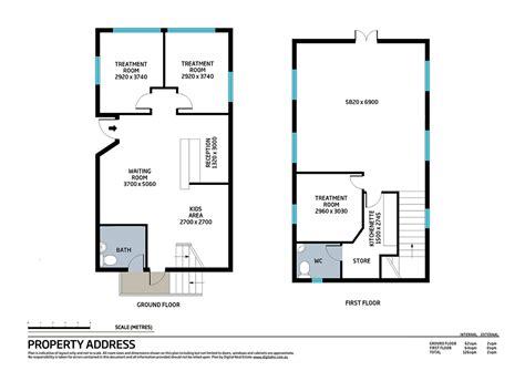 Commercial Real Estate Floor Plans  Digital Real Estate