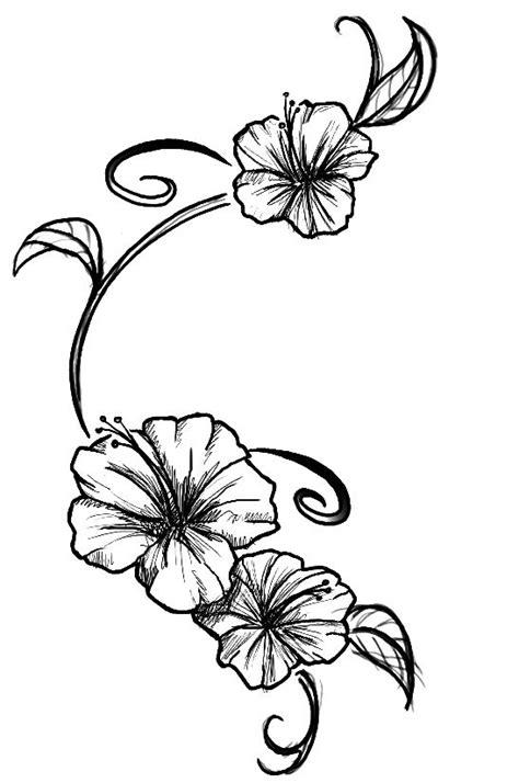 Flowers tattoo by ~Kupo-Nut89 on deviantART   Hibiscus