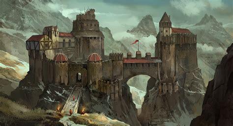 castles artwork wallpapers