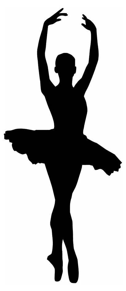 Ballerina Silhouette Mod Sagoma Classica Danza Tutu