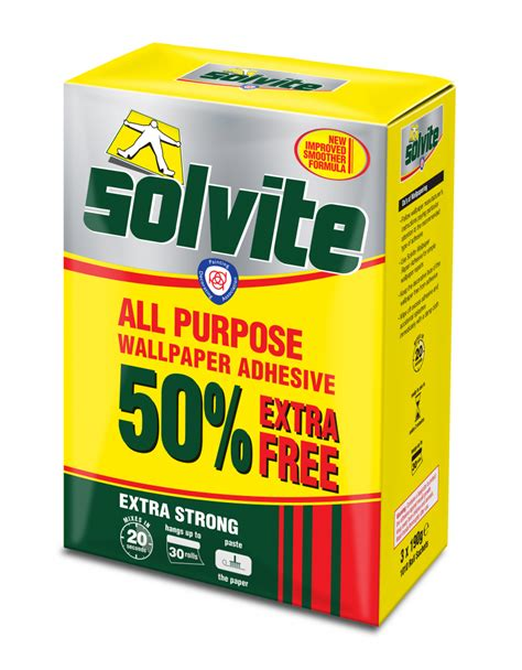 Solvite All Purpose Wallpaper Adhesive  Stax Trade Centres