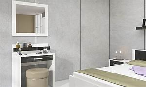 Coiffeuse Moderne Avec Miroir : coiffeuse moderne groupon shopping ~ Teatrodelosmanantiales.com Idées de Décoration