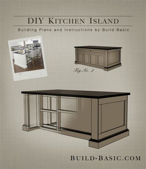 diy kitchen island from stock cabinets useful finesse cabinet making wood project
