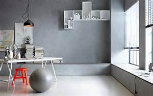 wandgestaltung mit farben wandgestaltung in beton optik schöner wohnen