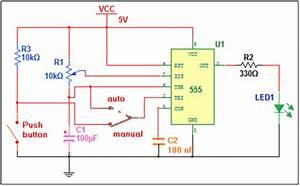 Auto And Manual Pulse Generator