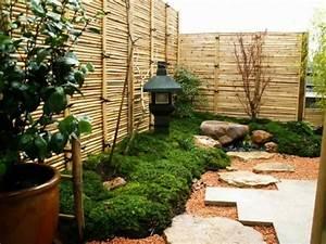 deco jardin exterieur zen 20 idees d39inspiration With deco jardin avec bambou