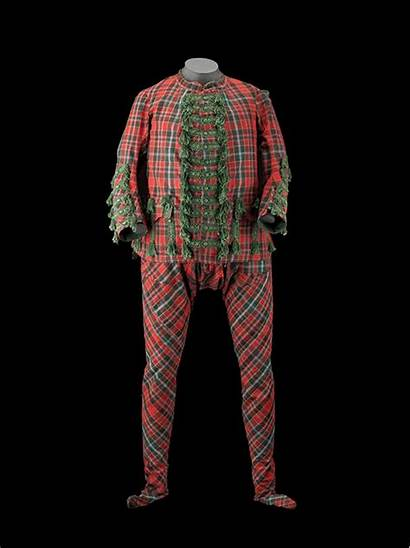 Suit Jacobite Tartan Cotton John Sir Supporters