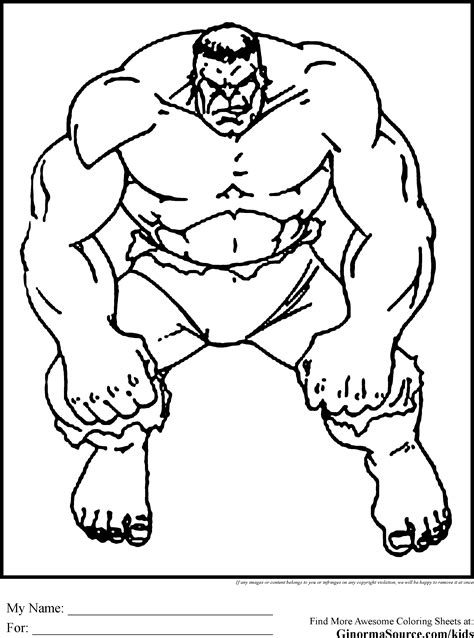 The Avengers Coloring Pages Hulk Coloring Pages 14823