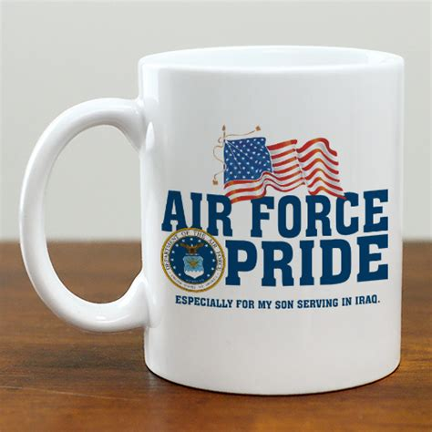Concerns about expensive military coffee mugs are heating up. Military Pride Personalized Coffee Mug   GiftsForYouNow