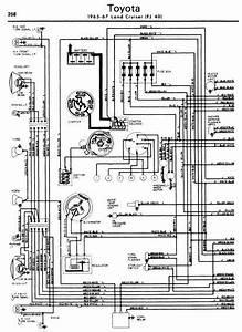 repair manuals toyota land cruiser 1965 67 wiring diagrams With fj40 wiring diagram