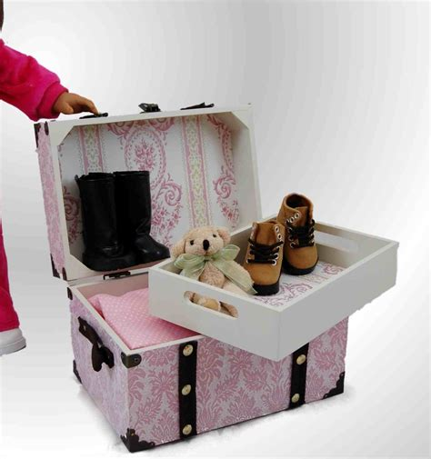 Accessories Furniture by Doll Steamer Trunk For American 168 Doll Accessories