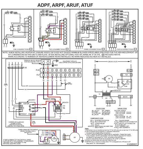 goodman heat wiring schematic free wiring diagram