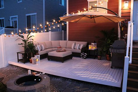 Design Your Own Deck Home Depot by How To Build A Simple Diy Deck On A Budget