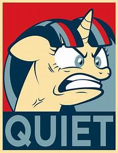 Quiet! by dan232323 on DeviantArt  Quiet