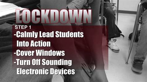 Las Cruces High School Lockdown Security Procedures - YouTube
