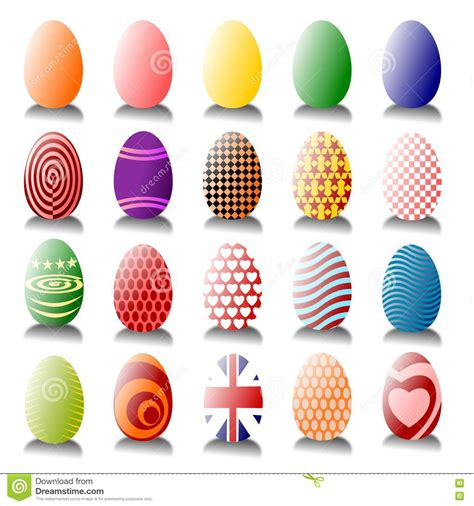 Regardless, they are all good ways to put your egg stash to good use. Lots Of Easter Eggs Royalty Free Stock Photography - Image ...
